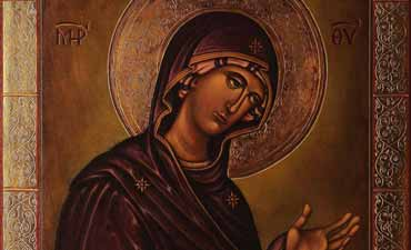 Maria Panna Dziewica z Deesis